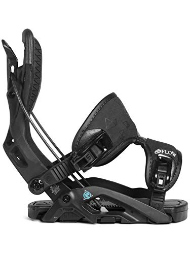 Flow 2019 Omni Womens Charcoal Large Snowboard Bindings