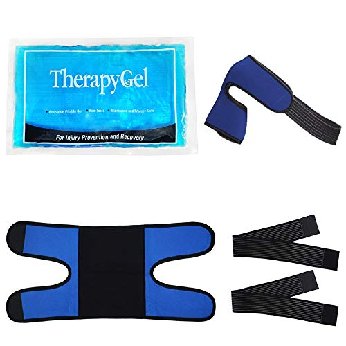 World-Bio Shoulder Ice Pack, Pain Relief for Periarthritis, Rheumatoid Arthritis, Sprains Sore/Muscle and Joint, Aches, Swelling, Bruises