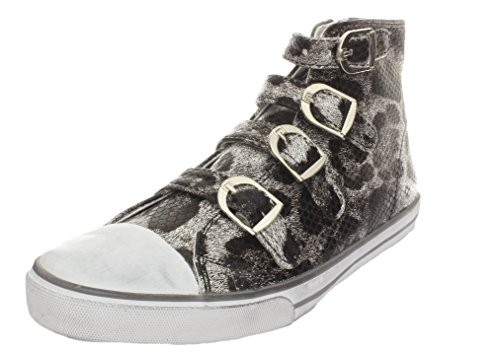 Amiana 15-A5172 High Top Sneakers Leopard Pewter
