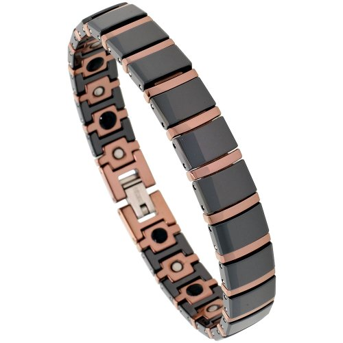Tungsten Ceramic Bracelet Magnetic Therapy