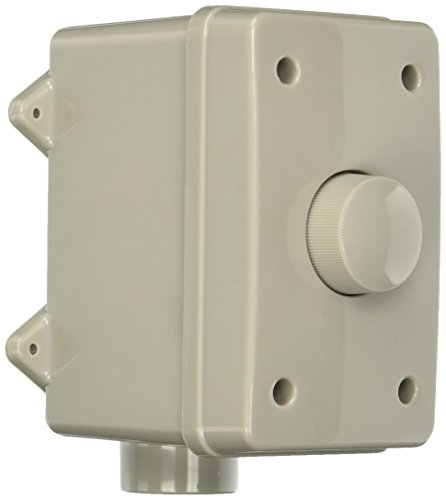 Theater Solutions OVCDG Outdoor Volume Control (Grey) (On And A Decks Budget Patios)