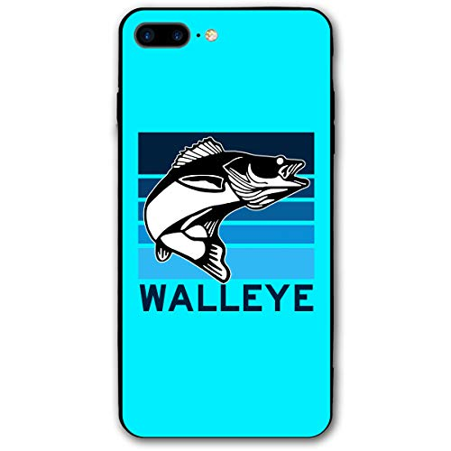 Walleye Fish iPhone 8 Plus Case,Case for iPhone 7 Plus 2016 / iPhone 8 Plus 2017 Release -