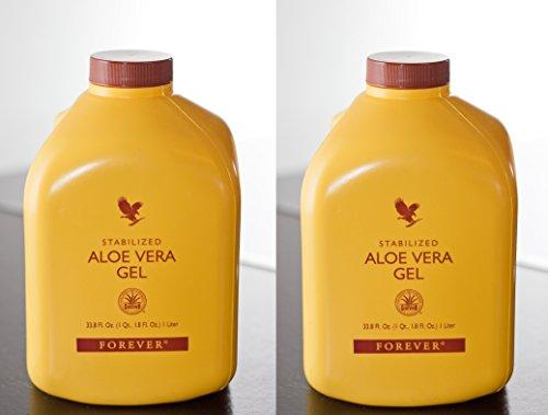 2 Kanister Aloe Vera Gel Trinkgel Getränk - Forever Living FLP