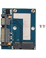 Endast formkonverteringsgränssnitt Mini PCI-e MSATA till 2,5 SATA-adapter konverteringskort modul blå kort 57 x 46 mm/2,24 x 1,81 tum–blå (BCVBFGCXVB)