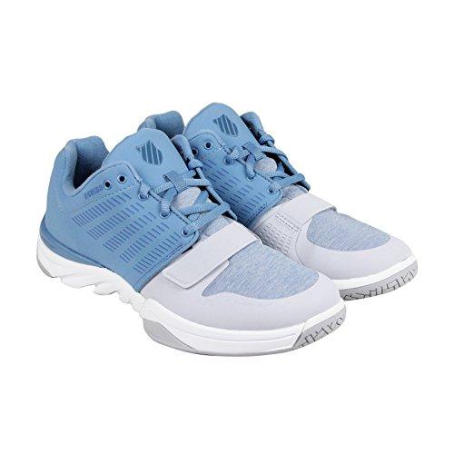 K-Swiss Men's X Court Athleisure Cross-Trainer Shoe, Blue Heaven/Gray Dawn, 10 M US