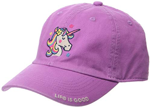 Life is Good Kids Chill Cap Baseball Hat , Happy Grape, Small