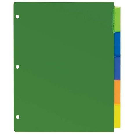 Amazon Avery Dennison 11900 Big Tab Durable Plastic Insertable