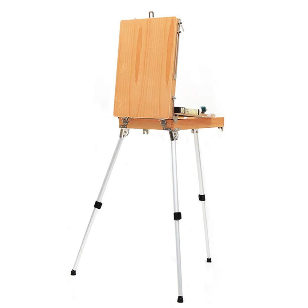 Caballete BSNOWF Portátil para Pintar Y Dibujar Cajón De Almacenamiento Ajustable Sketchbox Campaña para Exteriores para Exteriores