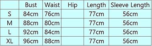 Camicetta Shirts Lunghe Cucitura Lily Fashion Tempo BoBo Primaverile Bluse Tops Maniche Eleganti Collo Grau Donna Felpe Stripe A Magliette Libero Rotondo Autunno Camicia qSRZg