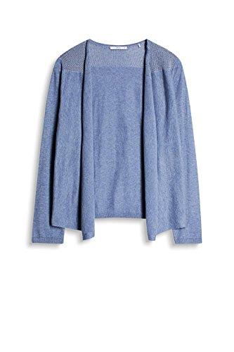 Blue Bleu by Esprit Gilet edc Femme Grey CqYT1Iwx