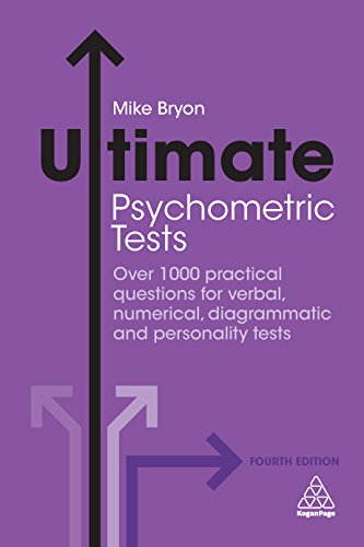 Amazon ultimate psychometric tests over 1000 practical ultimate psychometric tests over 1000 practical questions for verbal numerical diagrammatic and personality fandeluxe Gallery