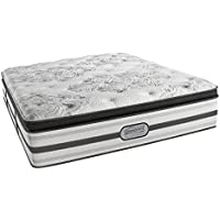 Beautyrest Simmons Recharge Platinum Luxury Firm Pillow Top Mattress, Aircool Max Gel Memory Foam, King