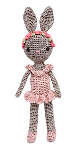 - VietsWay Ballerina Bunny Charlotte Handmade Amigurumi Stuffed Toy Knit Crochet Doll VAC
