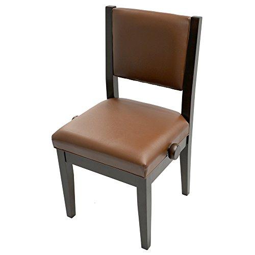 Frederick Studio Padded Adjustable Piano Chair Walnut