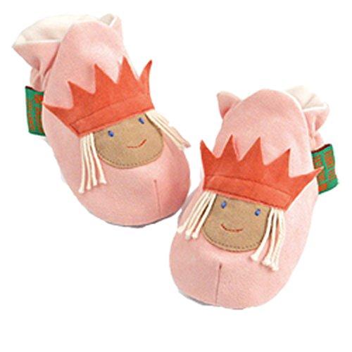 Funky Feet Chaussures bébé Princesse Cerise–3–6mois