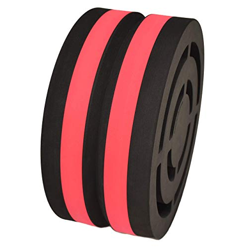 Body Wheel Yoga Wheel for Yoga, Stretching, Fitness, and Relaxation: Designed for Comfort and Versatility (15-inch Red-Black)