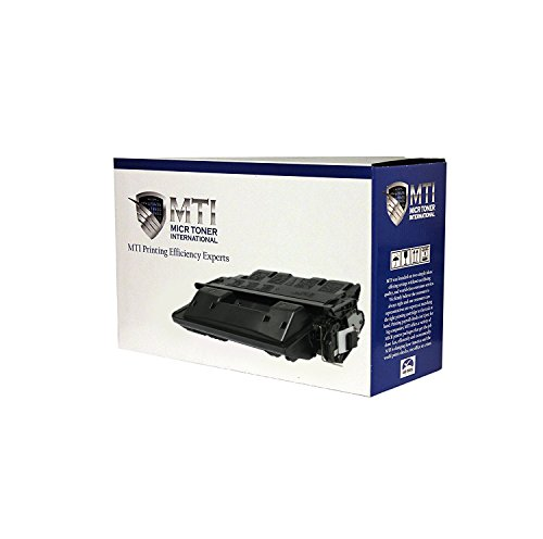 MTI C8061X Compatible MICR Toner Cartridge Replacement for HP 61X for Check Printing with HP LaserJet 4100 Printer Series