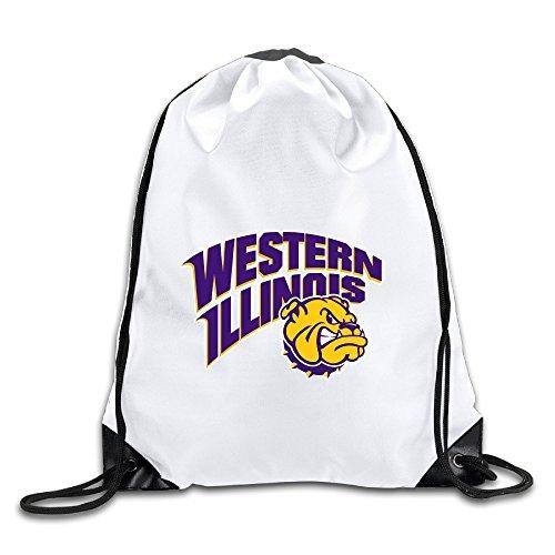 Hunson - Special Western Illinois University Backpack Sack Bag Gym Bag For Men & Women Sackpack