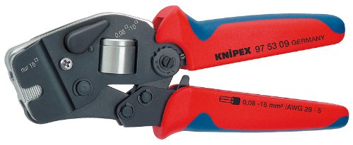 Crimping 9 Plier (KNIPEX 97 53 09 Self-Adjusting Crimping Pliers)
