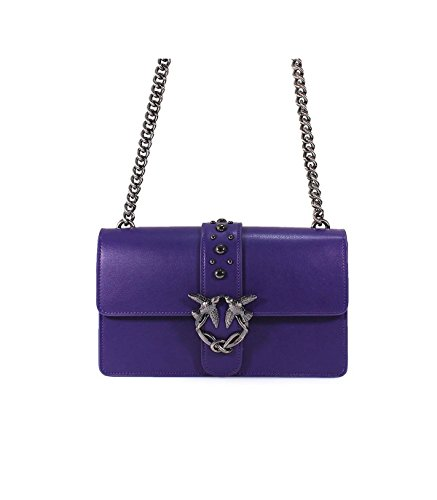 Pinko Love purple crossbody purple