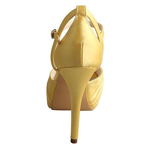 Wedopus - plataforma mujer amarillo