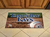 Tampa Bay Devil Rays Scraper Mat - Ball - Licensed Tampa Bay Devil Rays Gifts