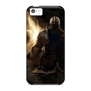 Series Skin Case Cover For Iphone 5c(dark Souls Bonfire)