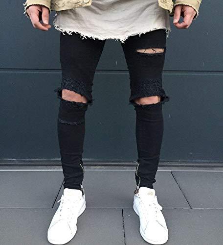 Cómodo Fit Azul Pantalones Ssig Los Algodón Hombres Pantalones De Elásticos Jeans Ropa K Tamaños De Elástico Slim Suave Alta Moda Cómodos Vaqueros PqzwrXPxO