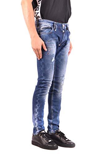 Plein Mdt0941pde004n08 Philipp Uomo Cotone Blu Jeans 0q8ZOwxB