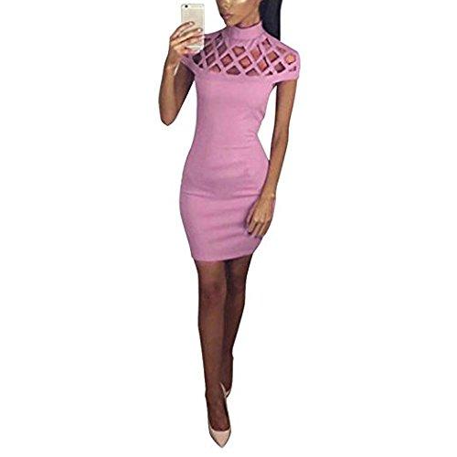 5x fishnet dress - 1