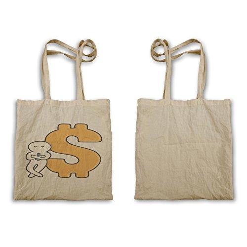 Denaro Dollaro Segno Novità Uomo Divertente Tote Bag A712r