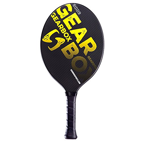 Gearbox Classic 300 (Oval Shape) Paddleball Paddle (3 5/8