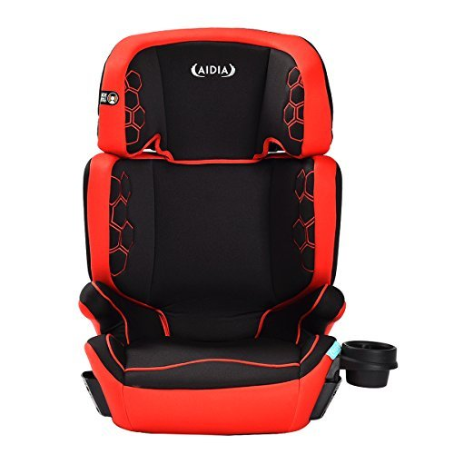 Aidia 2 in 1 Baby Toddler Adjustable High Back Booster Car Seat w/ Cup Holder