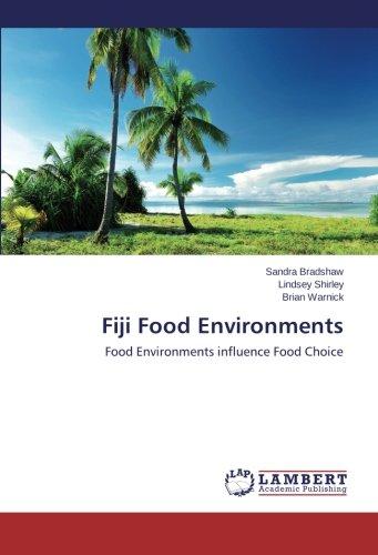 Fiji Food Environments: Food Environments influence Food Choice