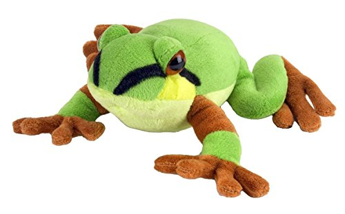 "7"" Usa Pacific Tree Frog Soft Toy"