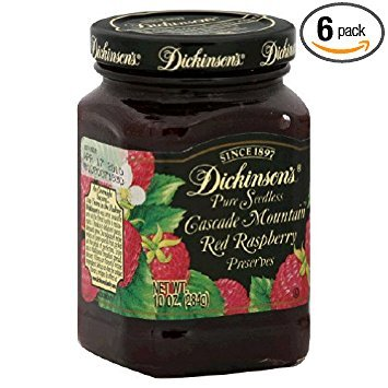 (Dickinson's Prsvr, Sdls, Red Rasp, 10-Ounce (Pack of 6))