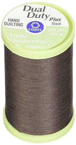 Coats: Thread & Zippers Dual Duty Plus Hand Quilting Thread, 325-Yard, Chona Brown