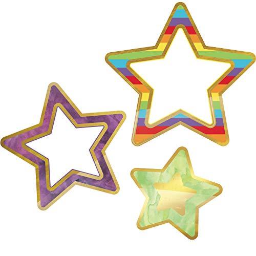 Carson Dellosa Sparkle Shine Rainbow and Foil Stars