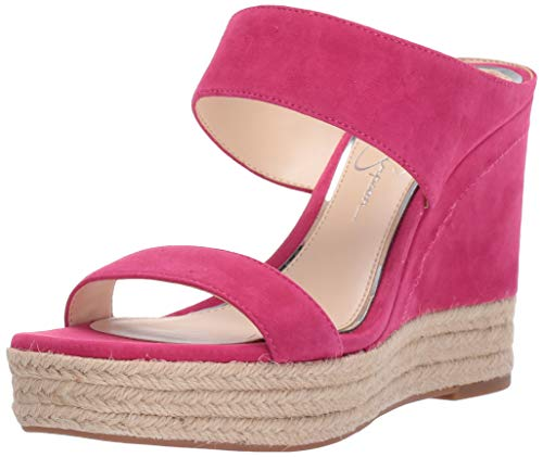 Jessica Simpson Women's Siera Sandal, Perfectly Pink, 9 M US (Pink Shoes Jessica Simpson)