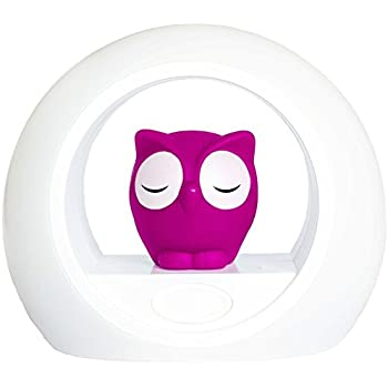 Zazu Kids LOU Voice Activated Nightlight Lamp (Pink)