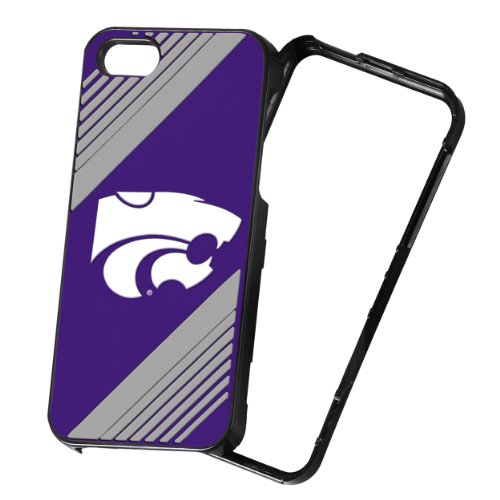 Forever Collectibles NCAA 2-Piece Snap-On iPhone 5/5S Polycarbonate Case - Retail Packaging - Kansas State Wildcats