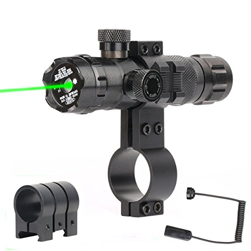 Price comparison product image Vokul Tactical Rifle Scope Outside Adjusted Hunting Gun Rifle Scope Sight With 2 Mounts (A-Black)