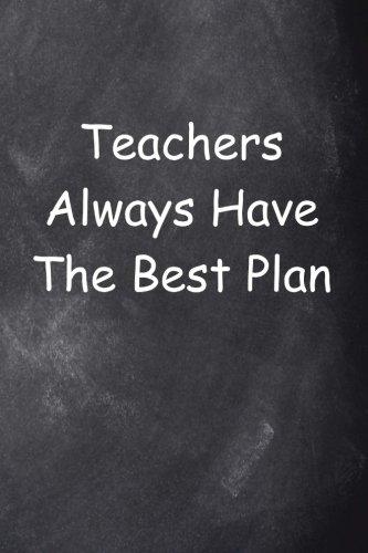 Teacher's Plan Journal Chalkboard Design: (Notebook, Diary, Blank Book) (Teacher Inspiration Journals Notebooks Diaries)