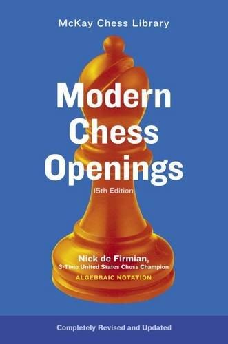 Modern Chess Openings, 15th Edition [Nick De Firmian] (Tapa Blanda)