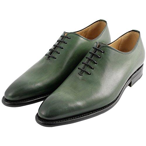 Exclusif ParisExclusif Paris Eric, Chaussures homme Richelieus homme - Zapatos de Cordones Hombre Verde - verde
