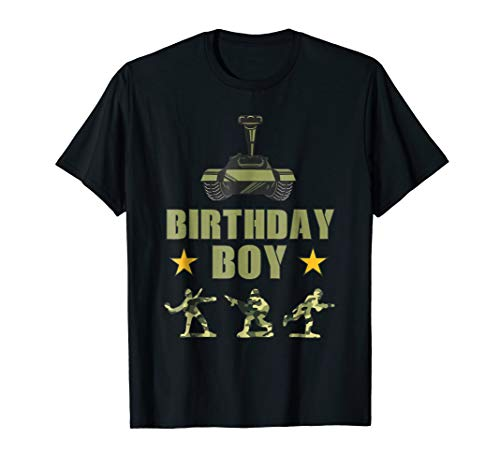 Birthday Army Party Army Decorations Boys Birthday Party Tee]()