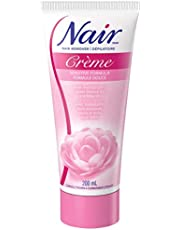 Nair Sensitive Formula Hair Removal Crème with Sweet Almond Oil and Baby Oil, 200-ml