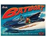 Batman Bat Boat With Robin Hood Plastic Model Kit 1966 Version by Polar Lights