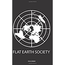 Flat Earth Society - Lined notebook: Notebook with lines