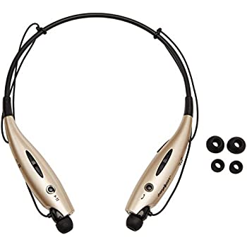 Chargeworx CX9014GD Wireless Bluetooth Earphone Headset Gold